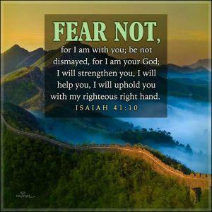 fear not Isaiah